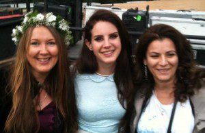 Dee with an Amazing lady, Lana Del Rey